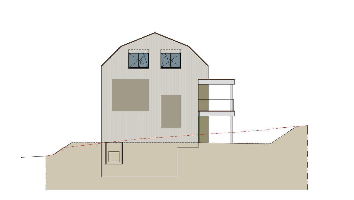 Projektvoranzeige Eiken 3.5 Zimmer Wohnung Obergeschoss