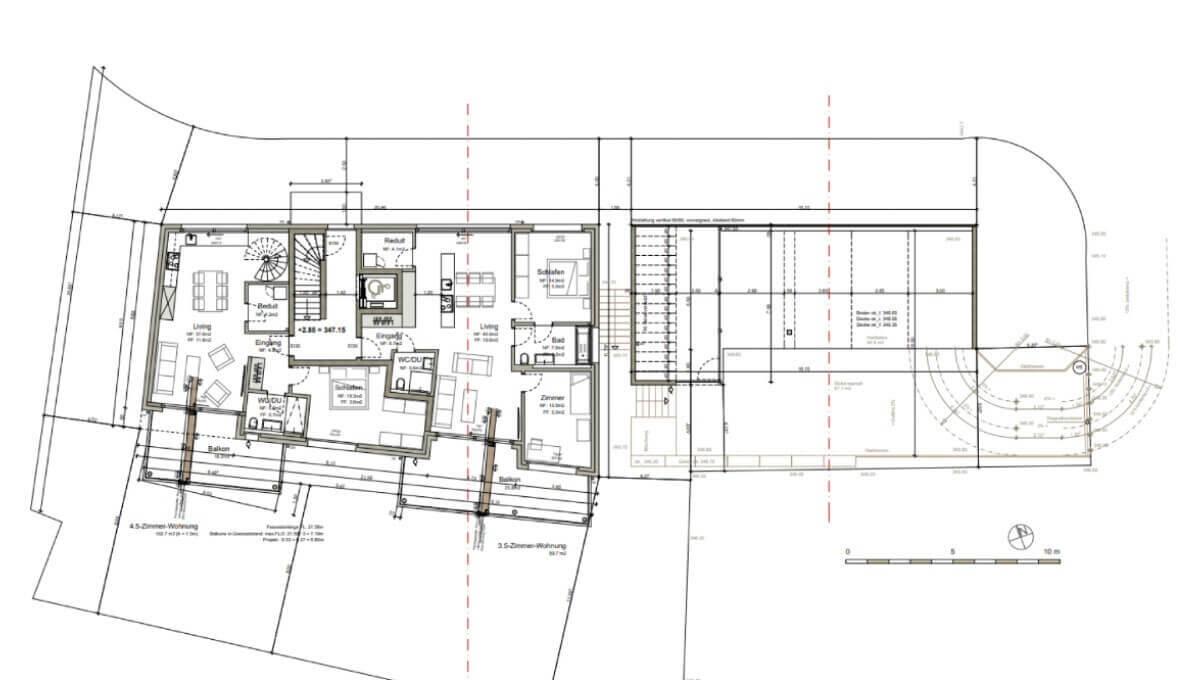 Buchhaldenweg Obergeschoss 90m2