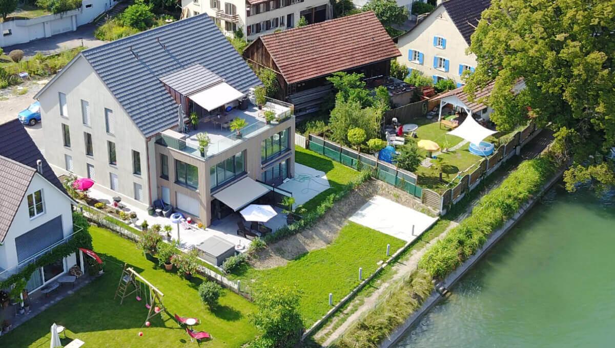 4 Familienhaus direkt am Rhein in Wallbach