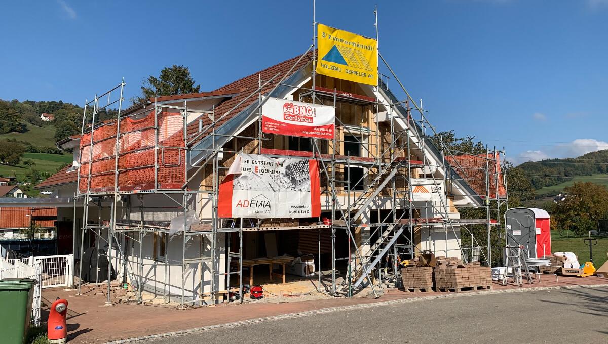 Erweiterung und Anbau Einfamilienhaus in Sulz