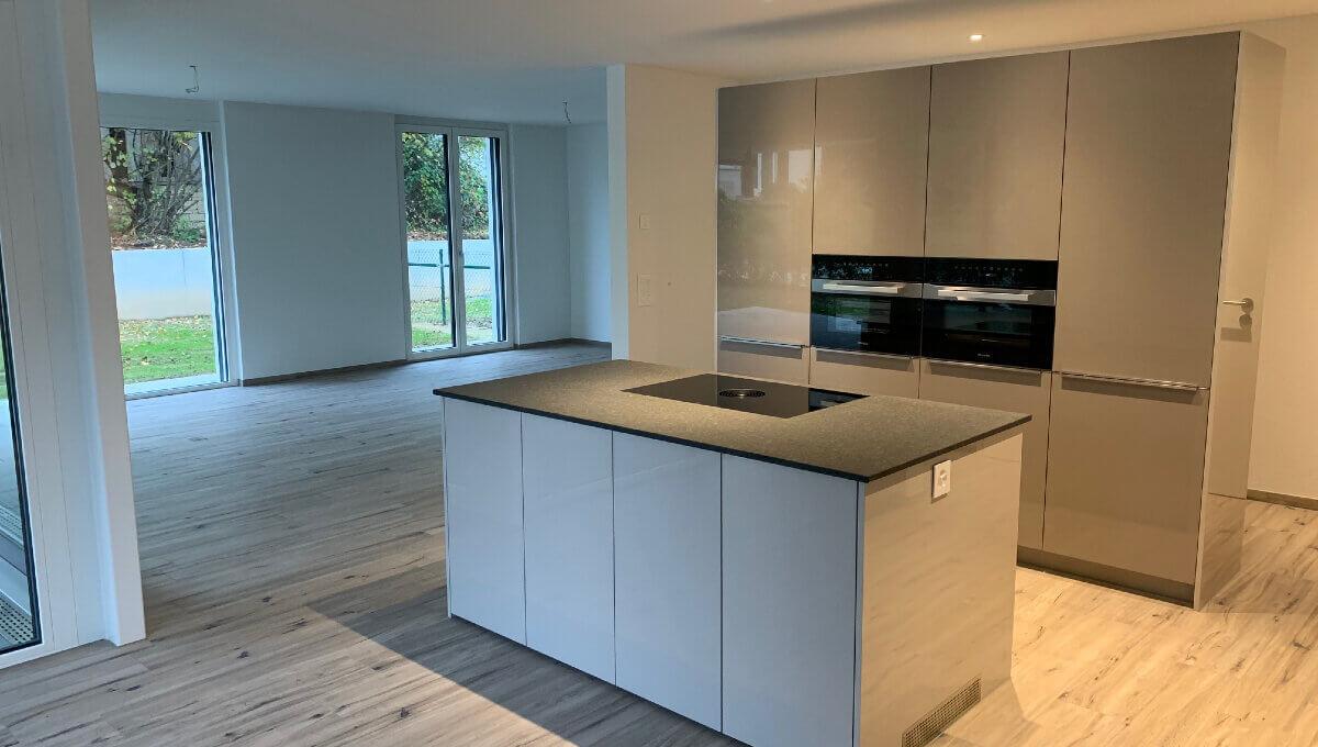 Küche mit Wohnzimmer gipf