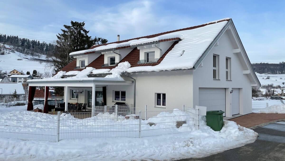 Erweiterung und Anbau Einfamilienhaus in Sulz Projekt abgeschlossen