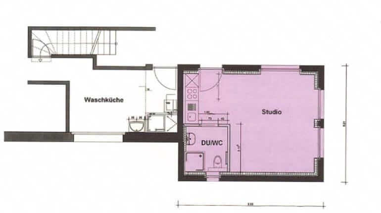 Grundriss Studio Hompage